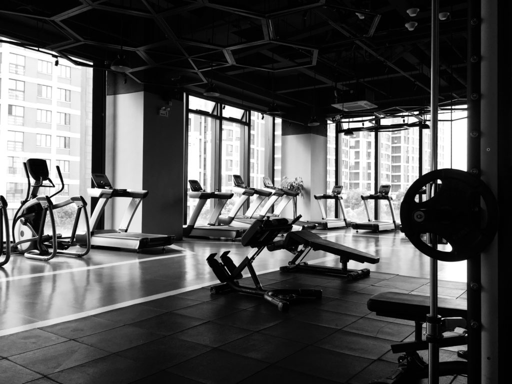 Picture of gym studio