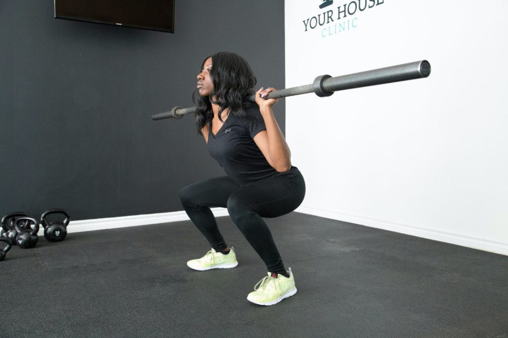Picture of woman exercising