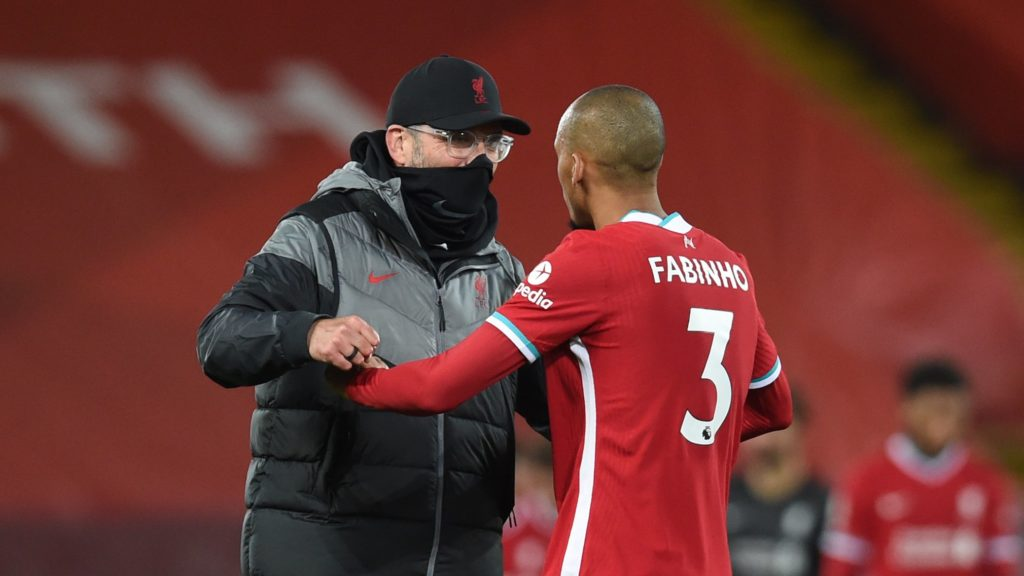 Photo of Klopp and Fabinho