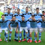 Photo of Lazio pose a photo team during the Serie A match between SS Lazio and Bologna FC