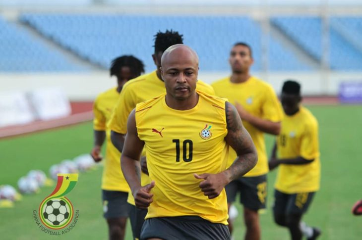 Andre Ayew has been ruled out of the trip to Sudan