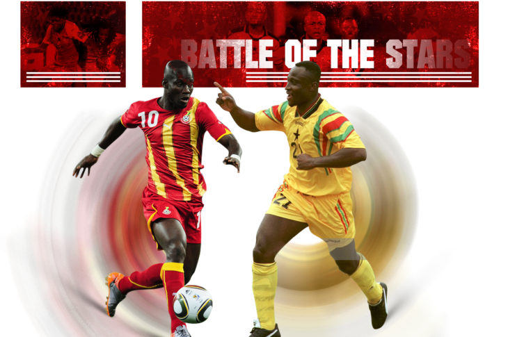 Tony Yeboah and others to feature in 'Battle of the Stars' game