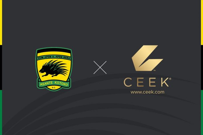Asante Kotoko announces a partnership agreement with CEEK VR