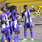 Great Olympics whip Legon Cities 3-0 to go top of GPL