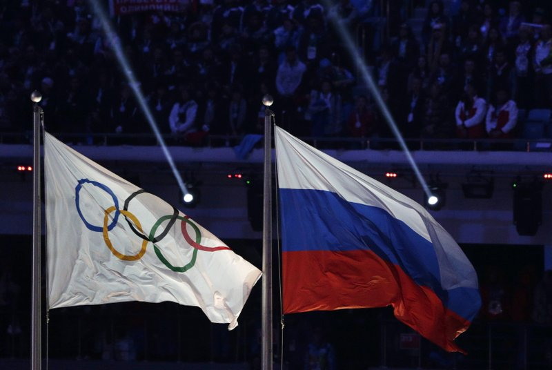 Russia banned from next 2 Olympics and World Cup event