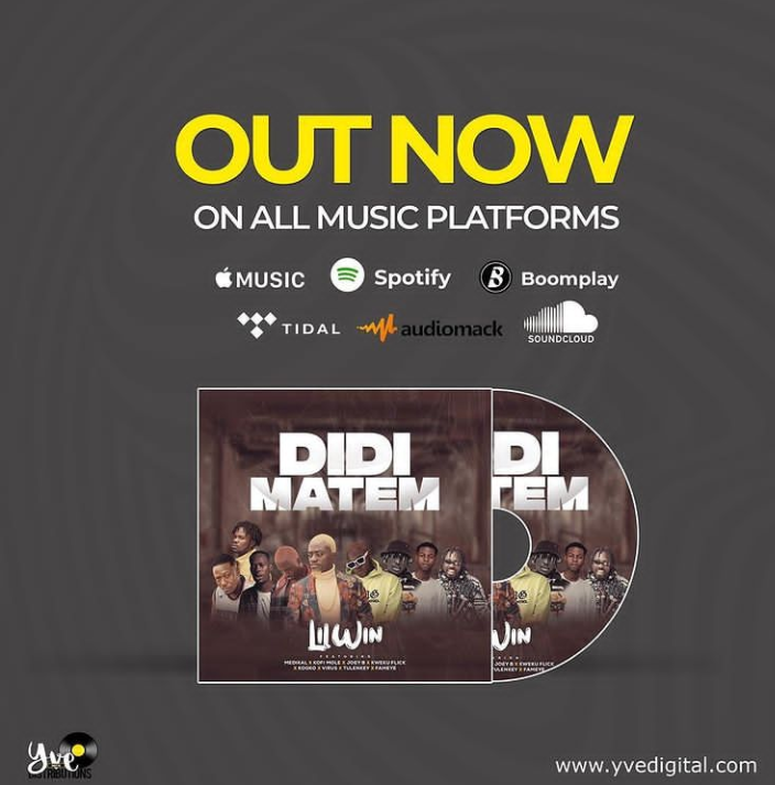 """Lilwin's """"Didi Matem"""" featuring Medikal, Joey B, and others out now"""