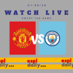 Watch live Manchester United against Manchester City
