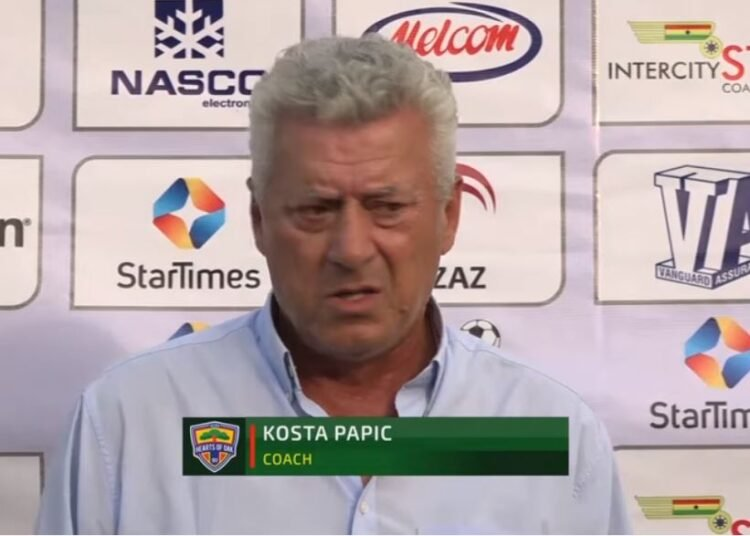 The nature of Golden City Park affected how we played says Hearts coach Kosta Papic
