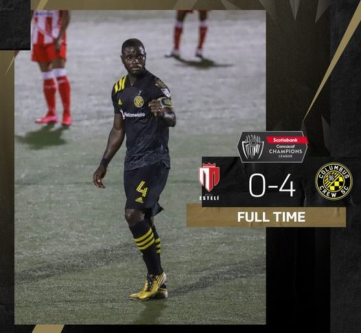 Watch Jonathan Mensah's Goal For Columbus Crew At Real Esteli