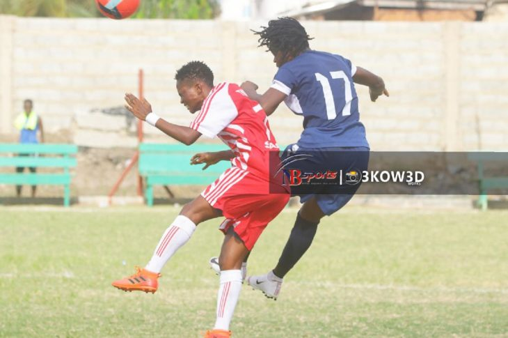 Thunder Queens Fall To Police Ladies At Tema