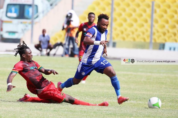 Accra Great Olympics Against Asante Kotoko Ends In A Goalless Draw