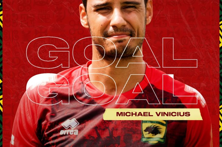 Watch Michael Vinicius Debut Goal For Asante Kotoko